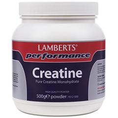 Lamberts® Performance Kreatinpulver 500g (Kreatin pulver monohydrat)