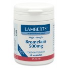 BROMELAIN 500mg (pineapple proteolytic protease enzymes gdu) (60 Capsules)