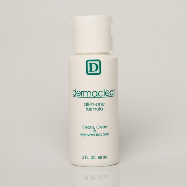 Dermaclear – allt-i-ett hudvårds produkt som rengör, rensar och läker huden vid aknebesvär