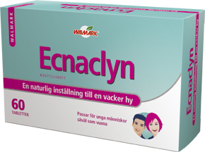 Ecnaclyn - kosttillskott mot hud acne / akne - Erbjudande köp en hel kur för 529 kr!