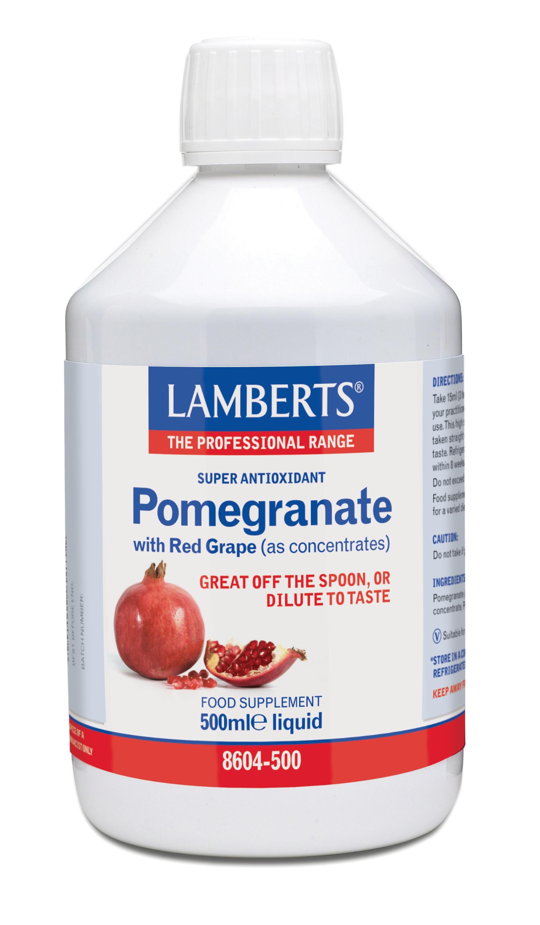 Granatäpple juice koncentrat (Extra stark superantioxidant) 500ml