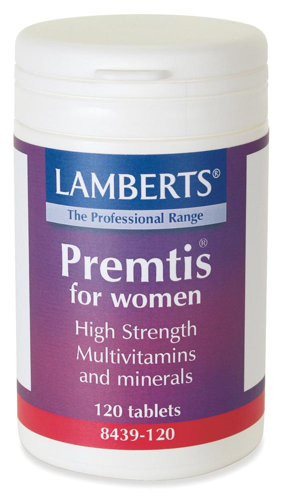 PREMTIS (Multivitamin för kvinnor med PMS) (120 tabletter)