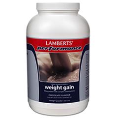 Lamberts Weight Gainer pulver 1816g - chokladsmak (muskelgainer, prestationshöjare, gainerpulver, gainpulver)