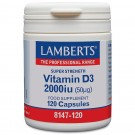 Vitamin D (kolekalciferol D3) 1000iu (25µg) - 120 kapslar