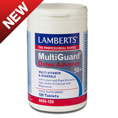 MULTIGUARD OSTEOADVANCE 50 + (vitaminer och mineraler f-?r skelettet) (120 tabletter)